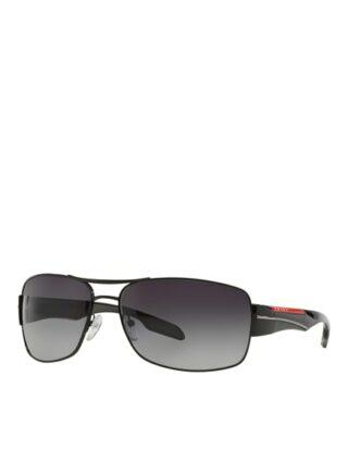 Prada Linea Rossa Ps 53ns Sonnenbrille Herren, Schwarz