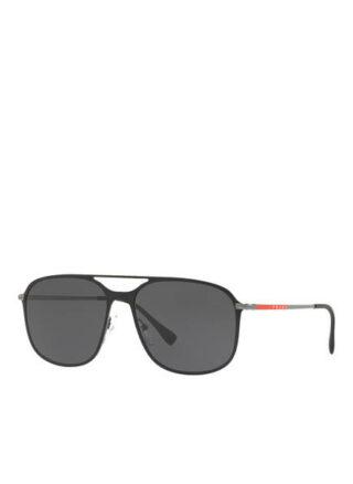 Prada Linea Rossa Ps 53ts Sonnenbrille Herren, Schwarz