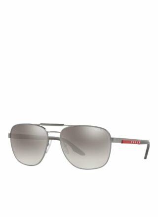 Prada Linea Rossa Ps 53xs Sonnenbrille Herren, Grau