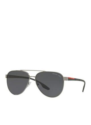 Prada Linea Rossa Ps 54ts Sonnenbrille Herren, Silber