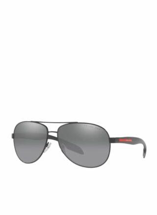 Prada Linea Rossa sps53p Sonnenbrille Herren, Schwarz