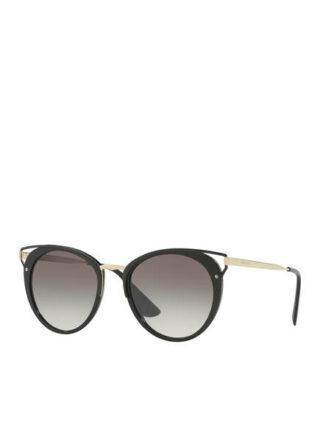 Prada Pr 66ts Sonnenbrille Damen, Schwarz