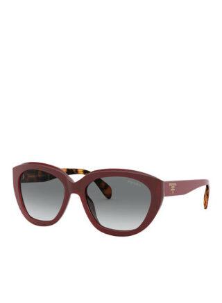 Prada pr16xs Sonnenbrille Damen, Rot