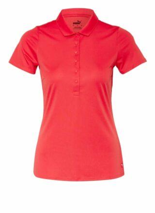 Puma Rotation Poloshirt Damen, Rot