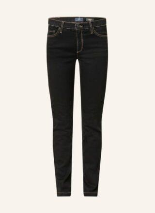 RAFFAELLO ROSSI Skinny Jeans Damen, Schwarz