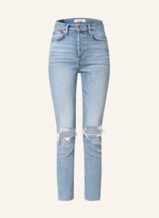RE/DONE Skinny Jeans Damen, Blau