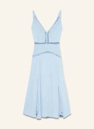 REISS Alberta Ausgestelltes Kleid Damen, Blau
