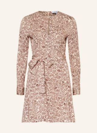 REISS Billie Ausgestelltes Kleid Damen, Pink