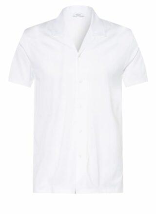 REISS Caspa Resorthemd Herren, Weiß