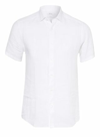 REISS Holiday Kurzarm-Hemd Herren, Weiß