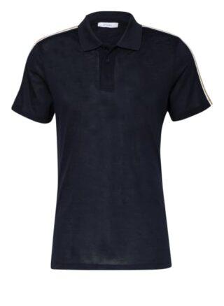 REISS Kendal Pique-Poloshirt Herren, Blau