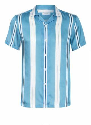REISS Monroe Resorthemd Herren, Blau
