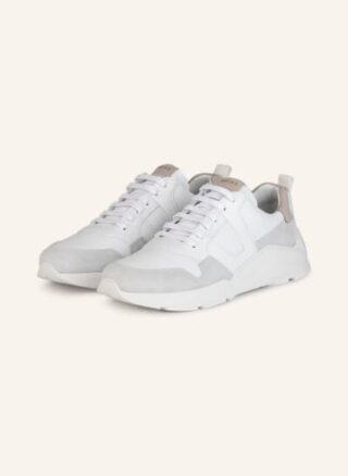 REISS Shelton Runner Plateau-Sneaker Damen, Weiß