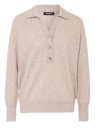 REPEAT Cashmere-Pullover Damen, Beige