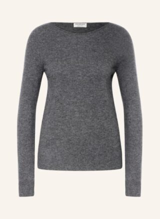 REPEAT Cashmere-Pullover Damen, Grau