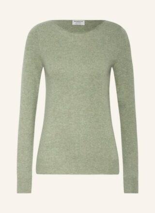 REPEAT Cashmere-Pullover Damen, Grün