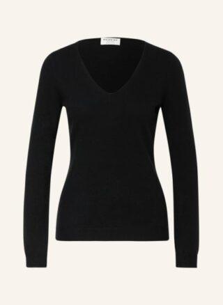 REPEAT Cashmere-Pullover Damen, Schwarz