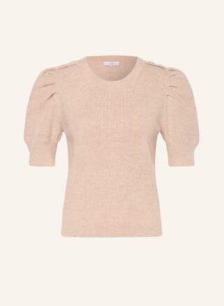 RIANI mit Seide Halbarm-Pullover Damen, Beige