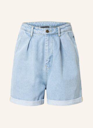 ROTATE BIRGER CHRISTENSEN Dilone Jeans-Shorts Damen, Blau