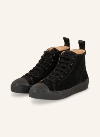 ROYAL REPUBLIQ Court Hightop-Sneaker Herren, Schwarz