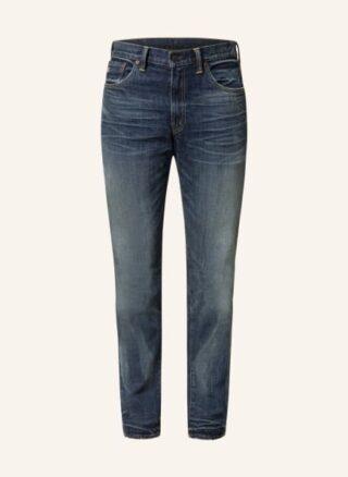 RRL Slim Fit Jeans Herren, Blau