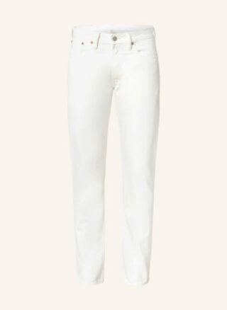 RRL Slim Fit Jeans Herren, Weiß