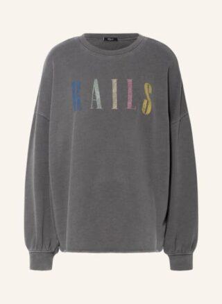 Rails Oversized-Sweatshirt Damen, Schwarz