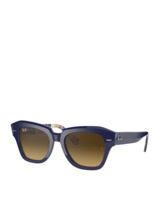 Ray-Ban rb2186 Sonnenbrille Damen, Blau