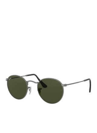 Ray-Ban rb3447 Round Sonnenbrille Damen, Grau