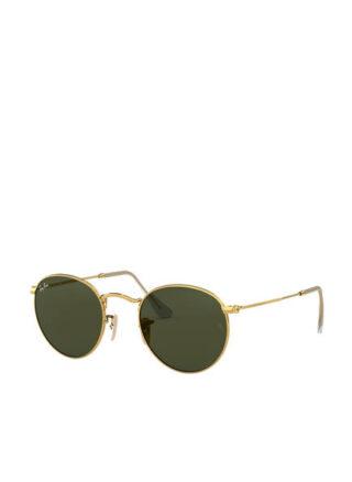 Ray-Ban rb3447 Round Sonnenbrille Damen, Grün