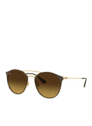 Ray-Ban rb3546 Sonnenbrille Damen, Gold