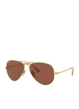 Ray-Ban rb3689 Sonnenbrille Damen, Gold