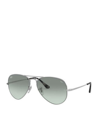 Ray-Ban rb3689 Sonnenbrille Damen, Silber