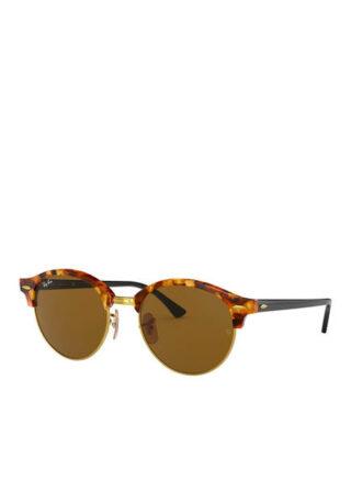 Ray-Ban rb4246 Clubround Sonnenbrille Damen, Braun