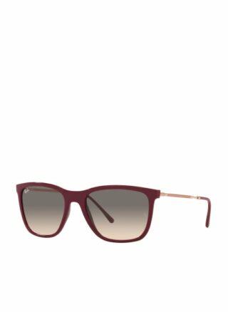 Ray-Ban rb4344 Sonnenbrille Damen, Rot