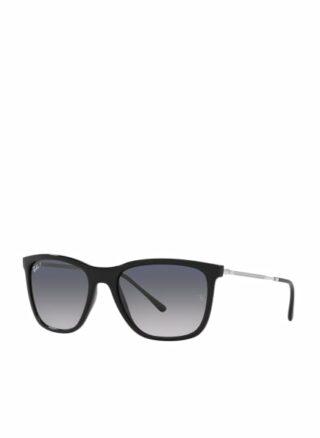 Ray-Ban rb4344 Sonnenbrille Damen, Schwarz