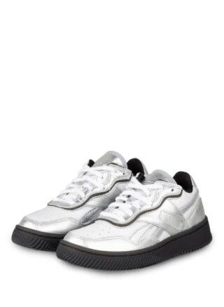 Reebok Dual Court Ii Plateau-Sneaker Damen, Silber
