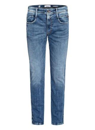 Replay Anbass Slim Fit Jeans Herren, Blau