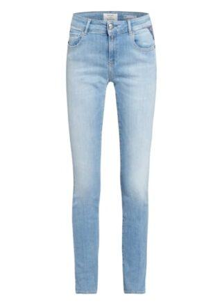 Replay Faaby Slim Fit Jeans Damen, Blau