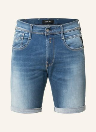 Replay Jeans-Shorts Herren, Blau