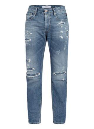 Replay Jeans Willbi Regular Regular Fit Jeans Herren, Blau