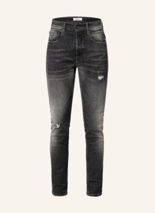 Replay Jeans Willbi Regular Regular Fit Jeans Herren, Grau