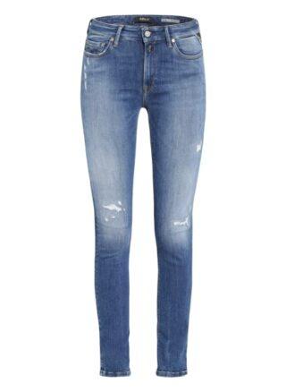 Replay Luzien Skinny Jeans Damen, Blau