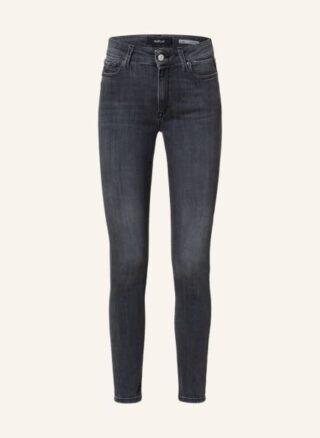 Replay Luzien Skinny Jeans Damen, Grau