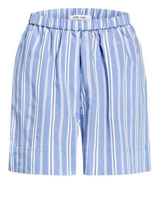 SAMSØE SAMSØE Laury Shorts Damen, Blau