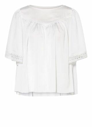 SEE BY CHLOÉ Blusenshirt Damen, Weiß