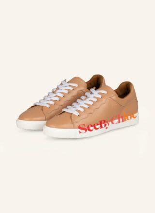 SEE BY CHLOÉ Essie Sneaker Damen, Beige