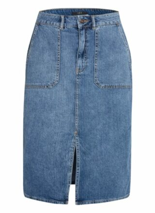 SET A-Linien-Jeansrock Damen, Blau