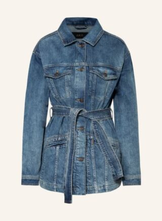 SET Jeansjacke Damen, Blau