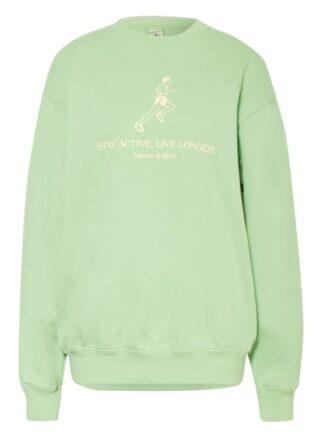 SPORTY & RICH Sweatshirt Damen, Grün